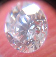 Бриллиант натуральный природный белый чистый купить в Украине 3 мм 0,1  карат 3  ce191f5d8e2