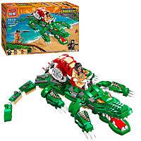 Конструктор Brick 1310 Legendary Pirates Свирепый крокодил 538 деталей