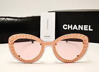 Женские солнцезащитные очки Chanel 7769 Copy (розовый цвет), фото 1
