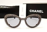 Женские солнцезащитные очки Chanel 7769 Copy (серый цвет), фото 1
