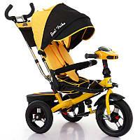 Трехколёсный детский велосипед Best Trike 6088F-1650 с надувными колесами