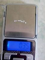 Купить бриллиант белый натуральный природный в Украине 5 штук  2 мм 0,03 карат