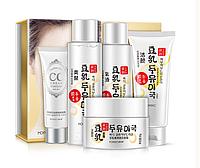 Набор корейской улиточной косметики для лица (с соевым молоком)