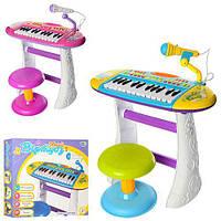 Синтезатор-пианино BB383BD со стульчиком и микроном