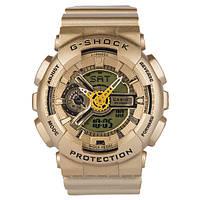 Спортивные часы Casio G-shock GA-110 Gold реплика