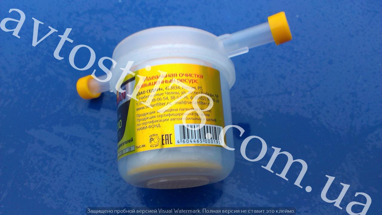 Фильтр топливный (карбюратор) SEDAN ниточный (с отстойником)
