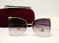 Женские солнцезащитные очки Gucci GG00252 (Grey), фото 1