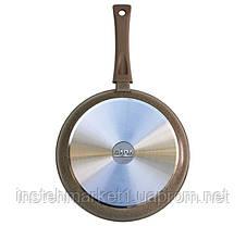 Сковорода БИОЛ 24047П (диаметр 240 мм) алюминиевая с антипригарным покрытием, без крышки, фото 2