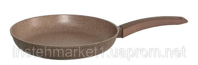 Сковорода БИОЛ 24047П (240х45 мм) алюминиевая с антипригарным покрытием, бакелитовая ручка, без крышкив интернет-магазине