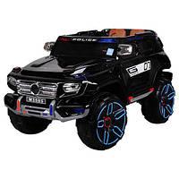Детский электромобиль Джип M 3585 EBLRS-2 Mercedes Police, кожаное сиденье,автопокраска, фото 1