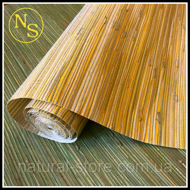 Натуральные обои трава-камыш D 3014L
