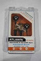 Наушники Atlanfa AT-2701 ( наушники для плеера HF MP3 )