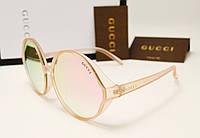 Женские солнцезащитные очки Gucci 17154 copy (розовый цвет), фото 1