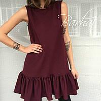 Мод. 163 Платье  с воланом внизу, фото 1