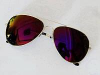 Очки капли Aviator солнцезащитные Purple S 2018