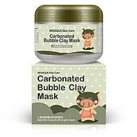 Маска для глубокой очистки пор глиняно-пузырьковая Carbonated Bubble Clay Mask Bioaqua, 100 мл, фото 1