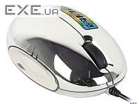 Мышь Defender Rainbow MS-770L, 3кн., 1000dpi. с подсветкой 5 цветов, хром (MS-770L Chrome)