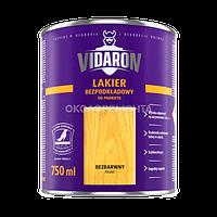 Лак для паркета без грунтовки Vidaron бесцветный глянец 0,75 л