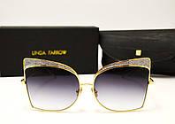 Солнцезащитные очки Linda Farrow LF 813 Lux (серый градиент), фото 1