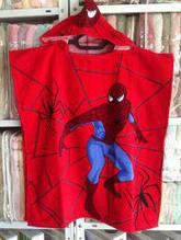 """Дитяче пляжне пончо """"Spidermen"""" - 3"""