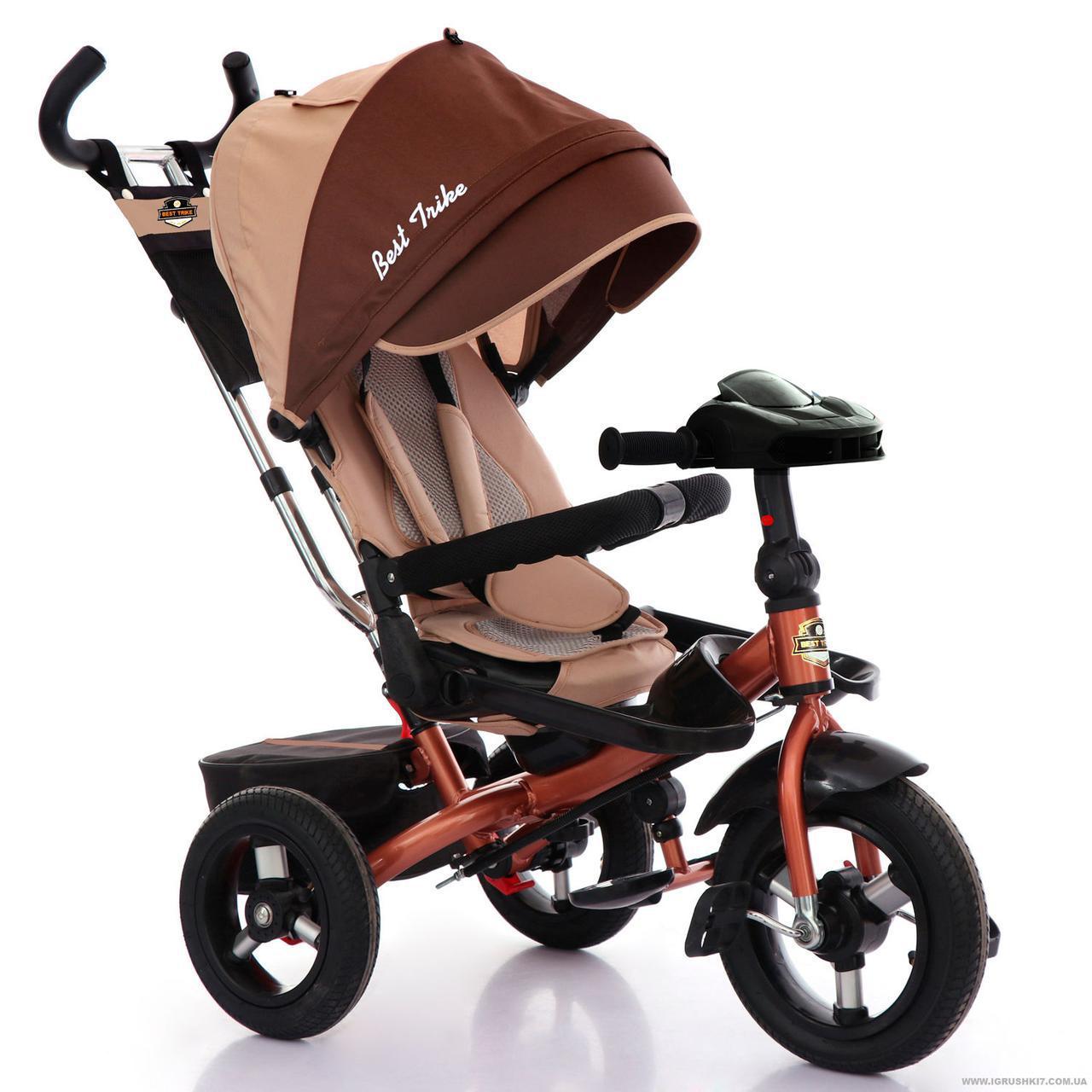 Трехколесный велосипед Best Trike поворотное сиденье и складной руль 6