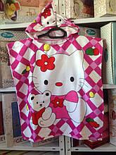 "Дитяче пляжне пончо ""Minni Mouse""-3"