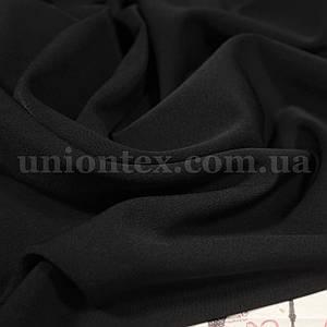 Костюмная ткань анжелика черная