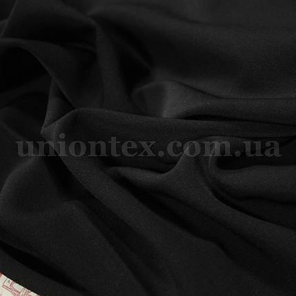 Костюмная ткань анжелика черная, фото 2