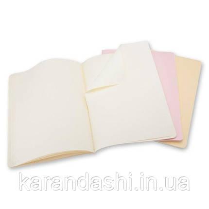 3 блокнота Moleskine Cahier больших пастельных CHA23, фото 2
