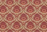 """Обои флизелиновые  """"С классическими узорами \ Барокко"""" в гостиную, вишневые, 1 Х 10 – Vinil 6-0428"""