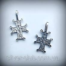 4010 Серебряный крестик 925 пробы от производителя в Харькове