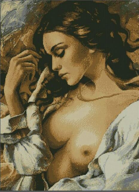"""Алмазная вышивка 67,5×49,5 - набор """"Богиня любви"""""""
