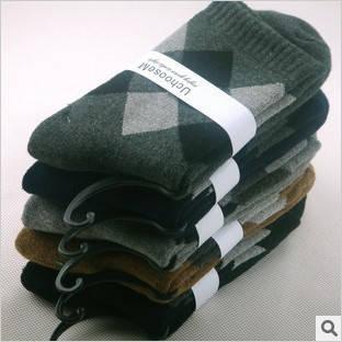 Теплі чоловічі шкарпетки