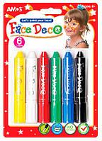 Краски для лица (грим, аквагрим) для детей и взрослых