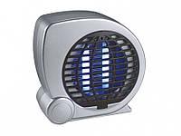 Ловушка для комаров, мух, ультрафиолетовая лампа, светильник DELUX AKL-15, 30 кв.м с вентилятором