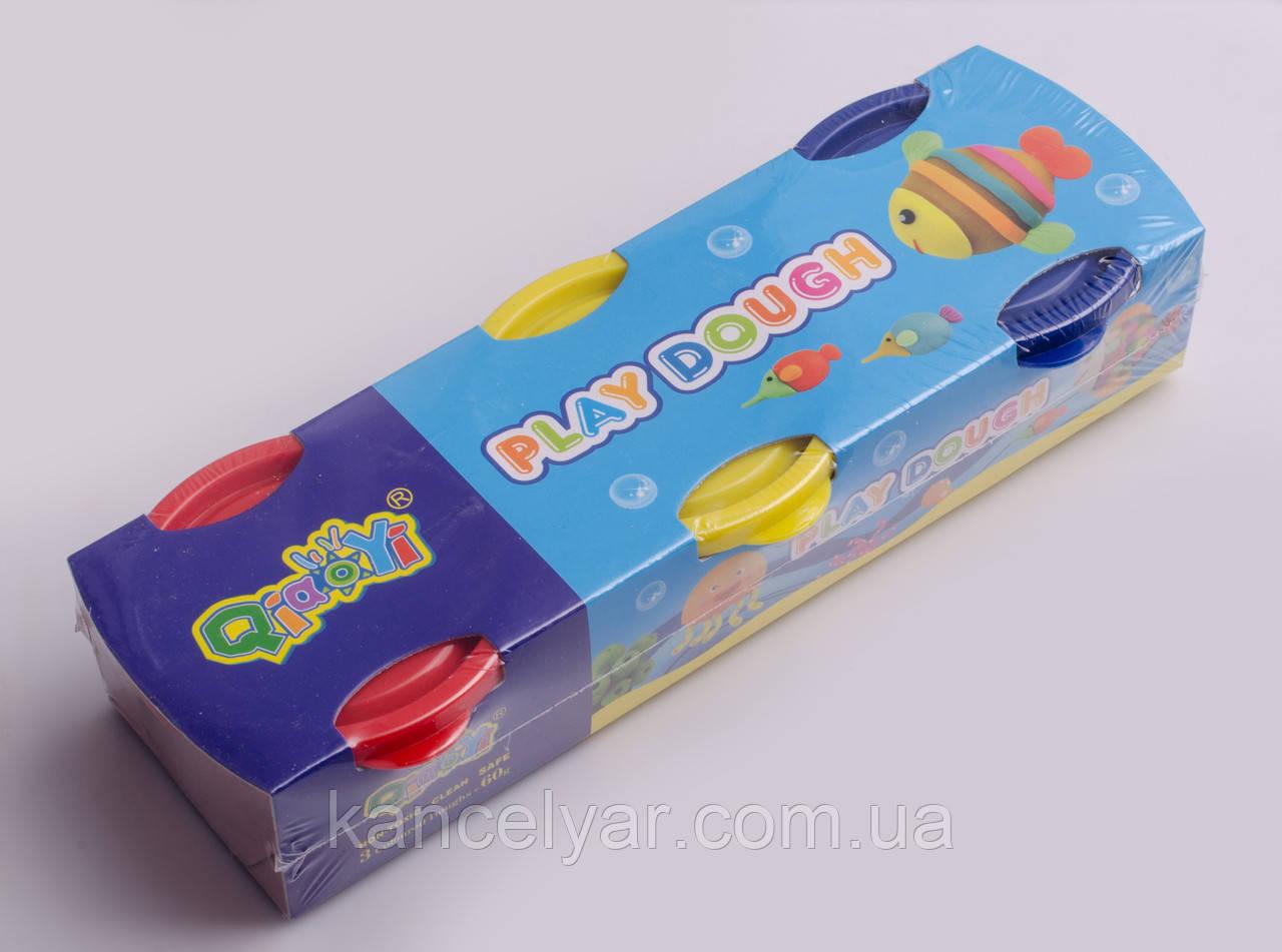 Пластилінове тісто: 3 кольори х 60 г