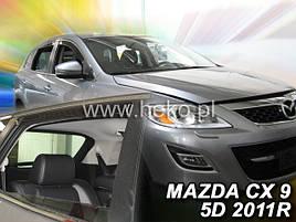 Дефлекторы окон (ветровики) MAZDA CX-9  5D 2007R (HEKO)