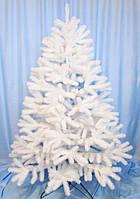 Литая елка искусственная белая  метелица 1,6-2,5 м