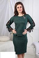 Костюм-двойка женский кофта и юбка, фото 1
