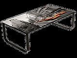 Журнальний кофейний стіл зі скла у вітальню Taxi II Signal, фото 6