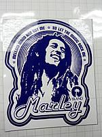 Виниловая наклейка MARLEY
