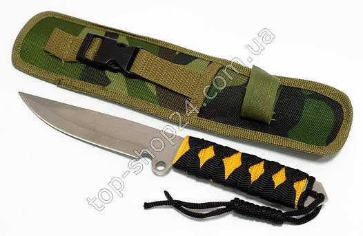 Тактический нож для охоты, туризма и рыбалки.