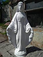 Статуя Божьей Матери из бетона 90 см №13