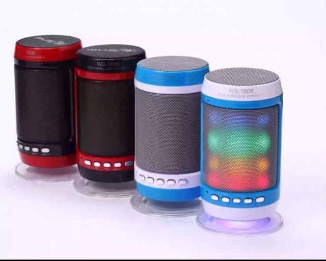 Колонка портативная MOD-1806 с USB+SD+ Bluetooth + FM радио