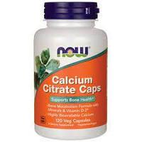 NOW Foods Calcium  Citrate Caps 120 caps