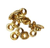 Заклепки (люверсы) 4.7 мм (500 шт.) золото
