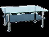 Журнальний кофейний стіл зі скла у вітальню Tessa Signal , фото 2