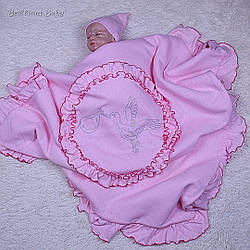 Плед Нежность (розовый)