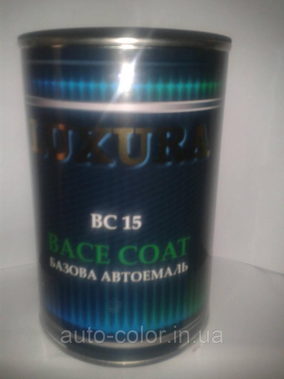 TOYOTA 202 черная  Базовая автоэмаль Luxura 1 л
