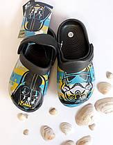 Обувь детская для мальчиков. Кроксы Star Wars Размер 32/33 Серый 2300002418(32/33) Cerda Китай